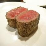 Amets - 料理写真:蝦夷鹿のロースト