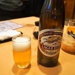 越中屋  - ビールは瓶のみ