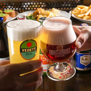 冬こそベルギービール!知識豊富なスタッフへ何でもお尋ね下さい