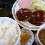 醤醤 - ハンバーグ定食