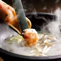 博多地鶏の本場水炊き鍋ご宴会コース3500円⇒3000円~♪