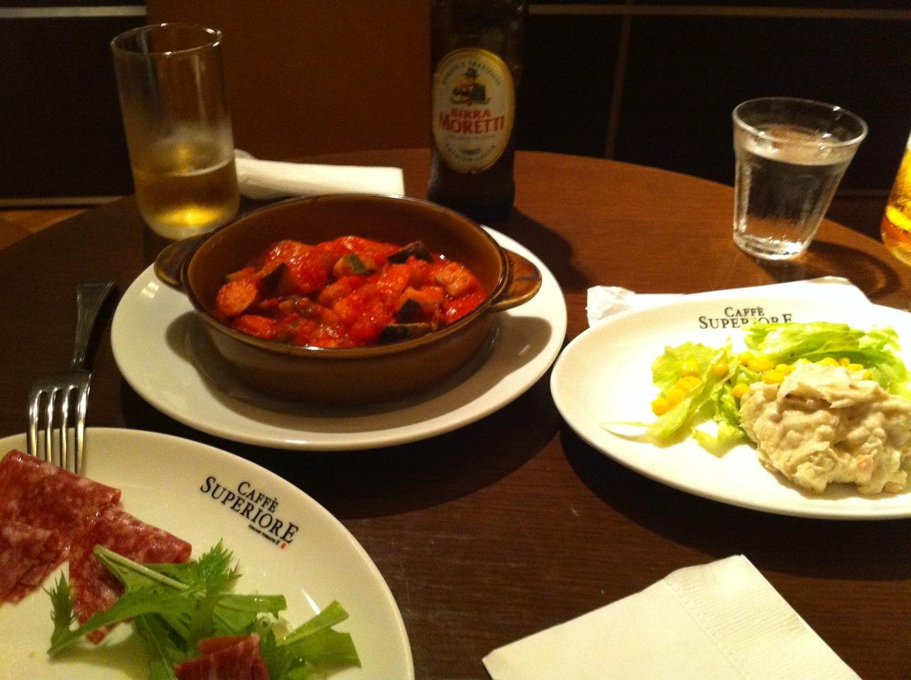 イタリアン・トマト カフェスペリオーレ コンフォートホテル中部国際空港店