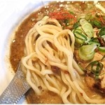 バサノバ - グリーンカレーにすごくマッチする麺。