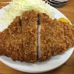 山家 - ロースカツ定食(大)