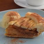 サルク カフェ - アップルパイ