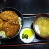 柏屋食堂 - 料理写真:ヒレソースカツ丼(ヒレ3枚)1050円