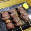 焼鳥ことぶき - 料理写真:カシラ180円+税、ハツ190円+税、レバー190円+税