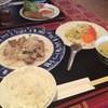 ホンハ - 料理写真:日替わりランチ☆フクロダケの炒めもの♪