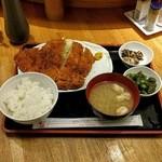 串鳥 - 料理写真:ビッグチキンカツ定食