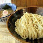 つけ麺 冨 - 味玉つけ麺(大盛り)880円