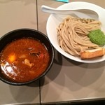 五ノ神製作所 - トマト玉子入りつけ麺