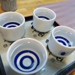 日本酒道場 橋 - 久保田飲み比べ