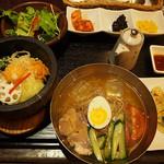 素饍齋 - ★石焼ピビンパ+冷麺