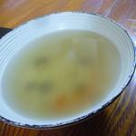 ハンバーグレストラン まつもと - スープ