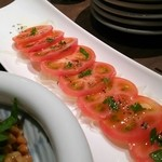 食家 螢 - 塩トマト