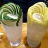 魚虎 - ドリンク写真:「生かぼす」600円・「生レモン」600円