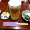 Torishou - 料理写真:生ビール:680円、お通し:500円