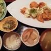 あんず - 料理写真:チキン南蛮(590円)とご飯セット(490円)