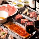 ニクアザブ - ワインと共にイロイロな部位のお肉をご堪能ください!!
