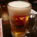 酔鯨亭 - 生ビール
