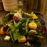 プラテロ - 金柑と菜の花・クリームチーズのサラダ