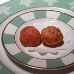 レストラン タテル ヨシノ 銀座 - シュー生地にチーズ