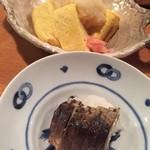 ここら屋 - 京風玉子焼き,焼き鯖