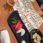 ここら屋 - お通しは、京野菜