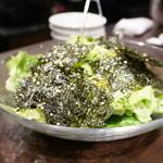 焼肉グレート - 韓国のりの塩サラダ