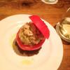 22 - 料理写真:ズワイガニとアボカドのトマトファルシ