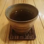 48572382 - 葉っぱと根っこ茶