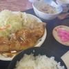 リズムハウス瓢湖 - 料理写真:生姜焼き定食