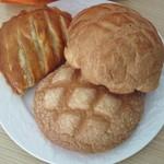 東京メロンパン - シナモンメロンとアップル
