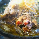 群ちゃん - 牛肉麺、すじ肉がゴロゴロ