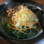 群ちゃん - 牛肉麺650円(税抜き)