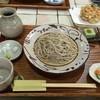 柚子の木 - 料理写真:桜海老のかき揚げ蕎麦