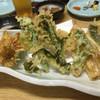三府鮨 - 料理写真:2016.3. 春野菜の天ぷら