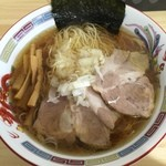 旨鶏中華そば ふじまる食堂 - 料理写真:醤油らーめん(中盛)