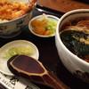 そば処松屋 - 料理写真:天丼セット