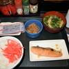 なか卯 - 料理写真:牛鮭朝定食 430円
