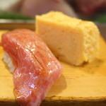 大和寿司 - トロ・卵