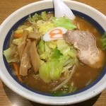 8番らーめん - 野菜らーめん・味噌