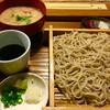 堂眞 - 料理写真:ざるそばと酒粕汁のセット