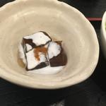 櫻庵 - デザートはコーヒーゼリー