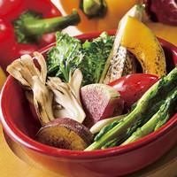 【安全安心】新鮮野菜を使用した本格イタリアン