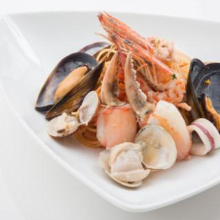蟹を中心としたイタリアン&フレンチ