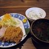 岡本 - 料理写真:特ロースかつ定食 1900円 (^^