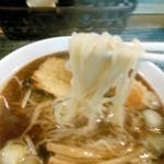 麺屋紅葉 - 醤油ラーメン 細麺