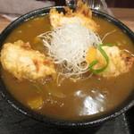 讃岐麺屋 あうん - 料理写真:鳥天カレーうどん
