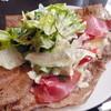 LeBRETON - 料理写真:ガレットランチ¥780。この日は生ハムとチーズのガレットでした。